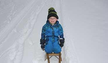 Wintersport met kleinkinderen- 6 praktische tips