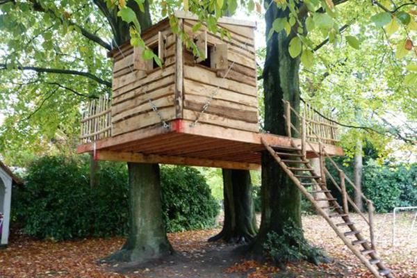 Beroemd Boomhut bouwen: in 4 stappen naar een stoere hut @MS13