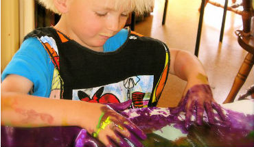 Finger Painting uitgelicht