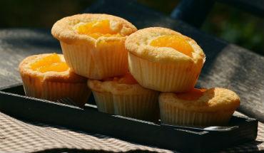 mandarijn muffins uitgelicht