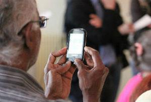 technologie en grootouder