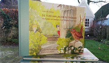 Een lekker lees- en doe-boek: 'De Tuin van Jacob en Thomas'