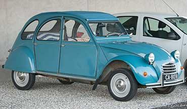 auto van vroeger