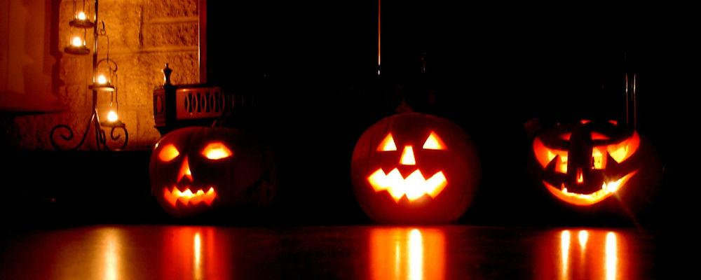 Halloween traktatie pompoenhoofden