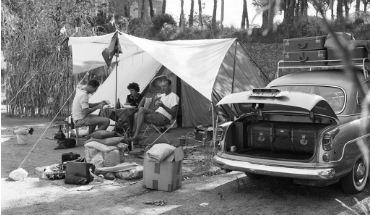 op de camping uitgelicht