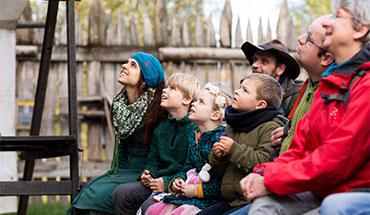 Ontdek het prehistorische en middeleeuwse leven samen met je kleinkind –7 keer een belevenis